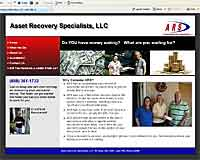 Asset Recovery Specialists Website