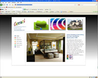 Geraci Painting & Decorating Web Site Image